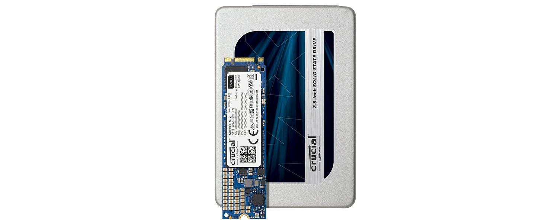 Familia MX300 SSD Crucial