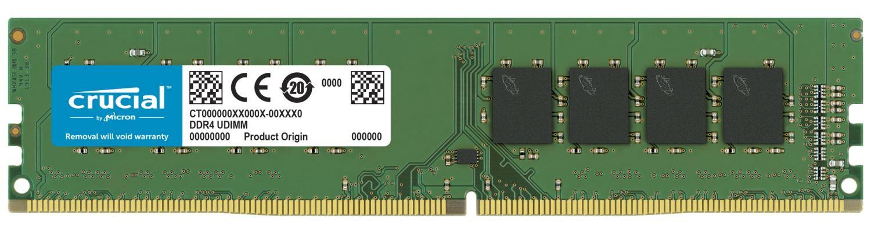 Módulo de memoria RAM UDIMM DDR4 Crucial