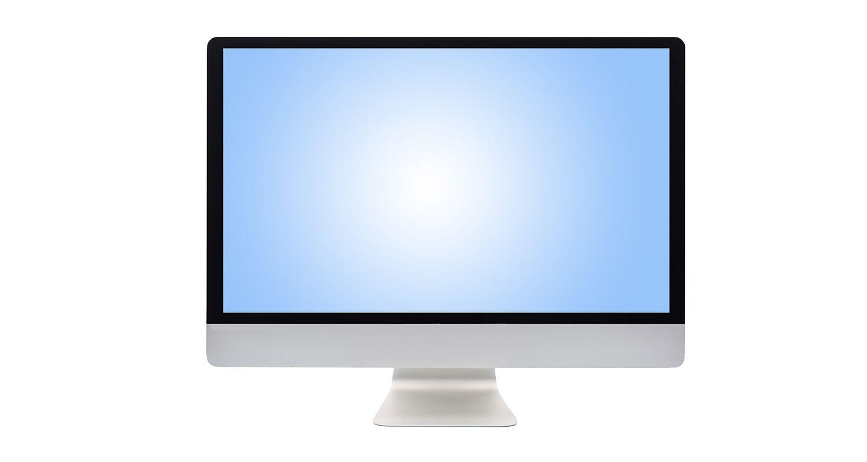 Monitor de computadora.