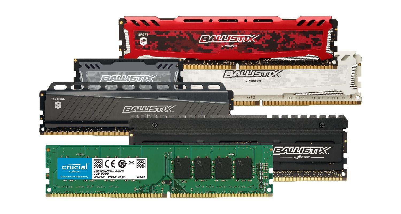 Memoria Crucial (RAM) para juego.