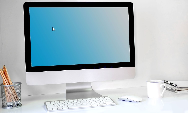 Computadora de escritorio Mac