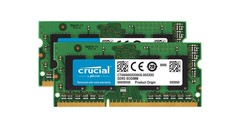 Memoria de computadora portátil Crucial